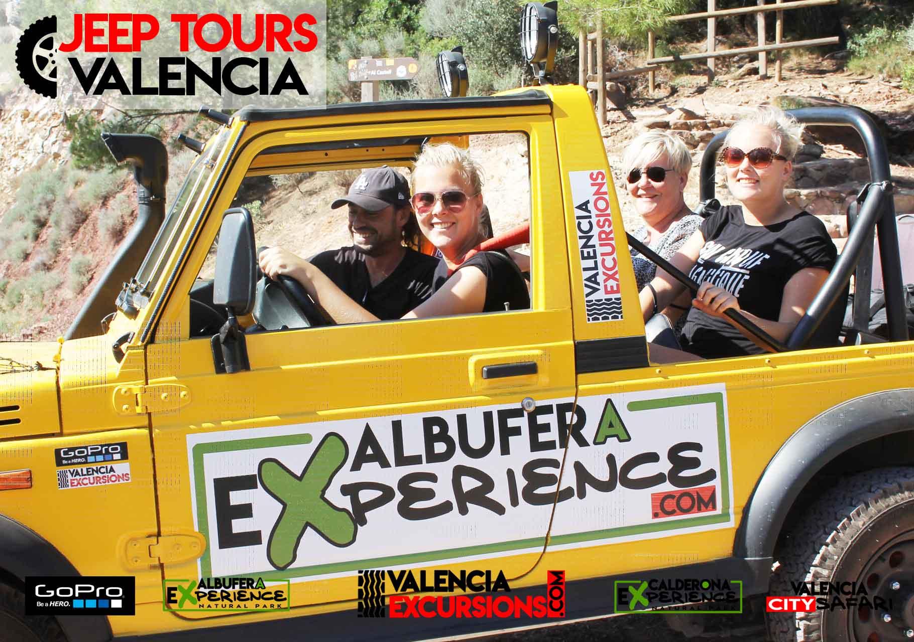 Geführte Tour zum  Naturpark Albufera Valencia  in Jeeps