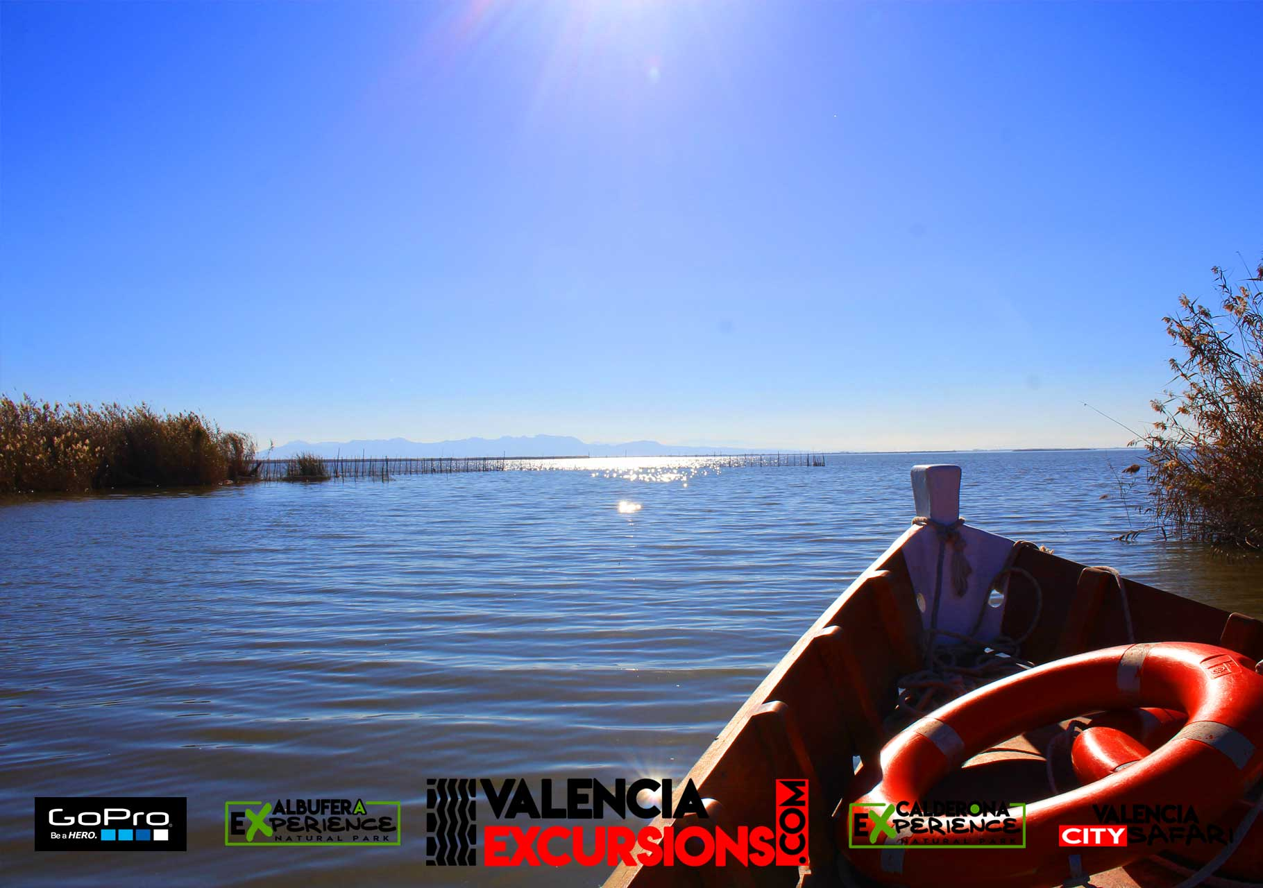 Albufera de Valencia Boat trip included with Albufera Experience jeep tour in Valencia www.valenciaexcursions.com
