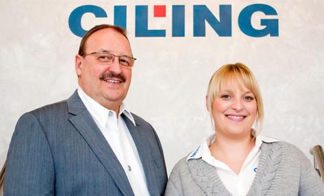 Starkes Duo: Erweiterung der CILING-Geschäftsführung.