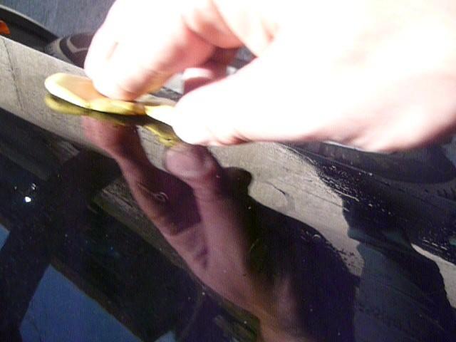 Décontamination avec une barre d'argile pour enlever les contaminations