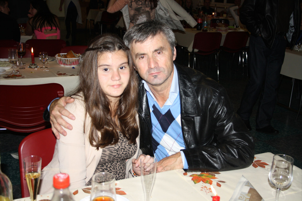 Ilija sa kćerkom Jovanom