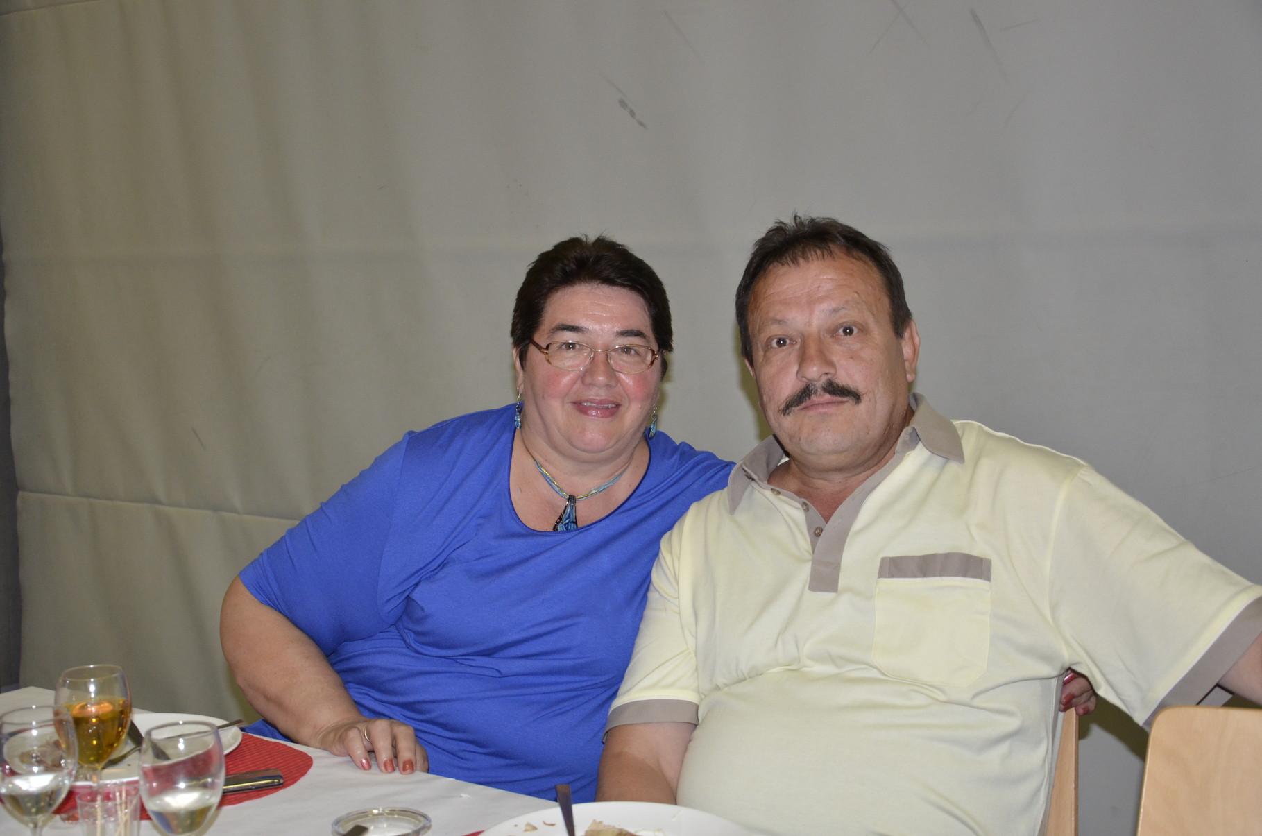 Ilija Kertić sa suprugom