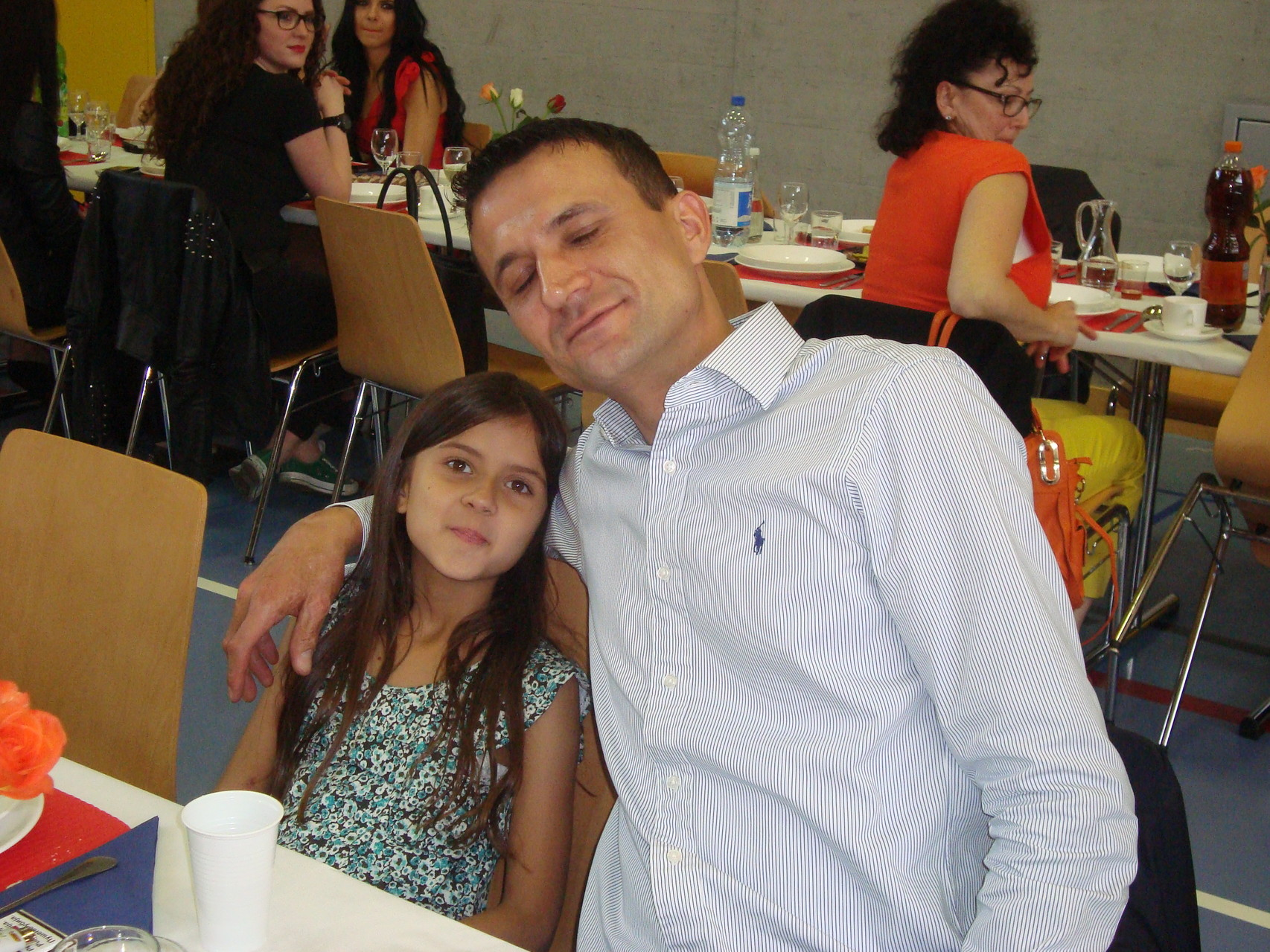 Nikola sa kćerkom