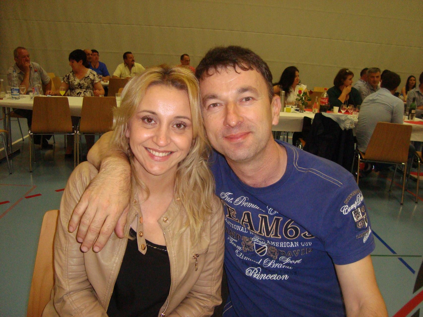 Milenko Miljić sa suprugom