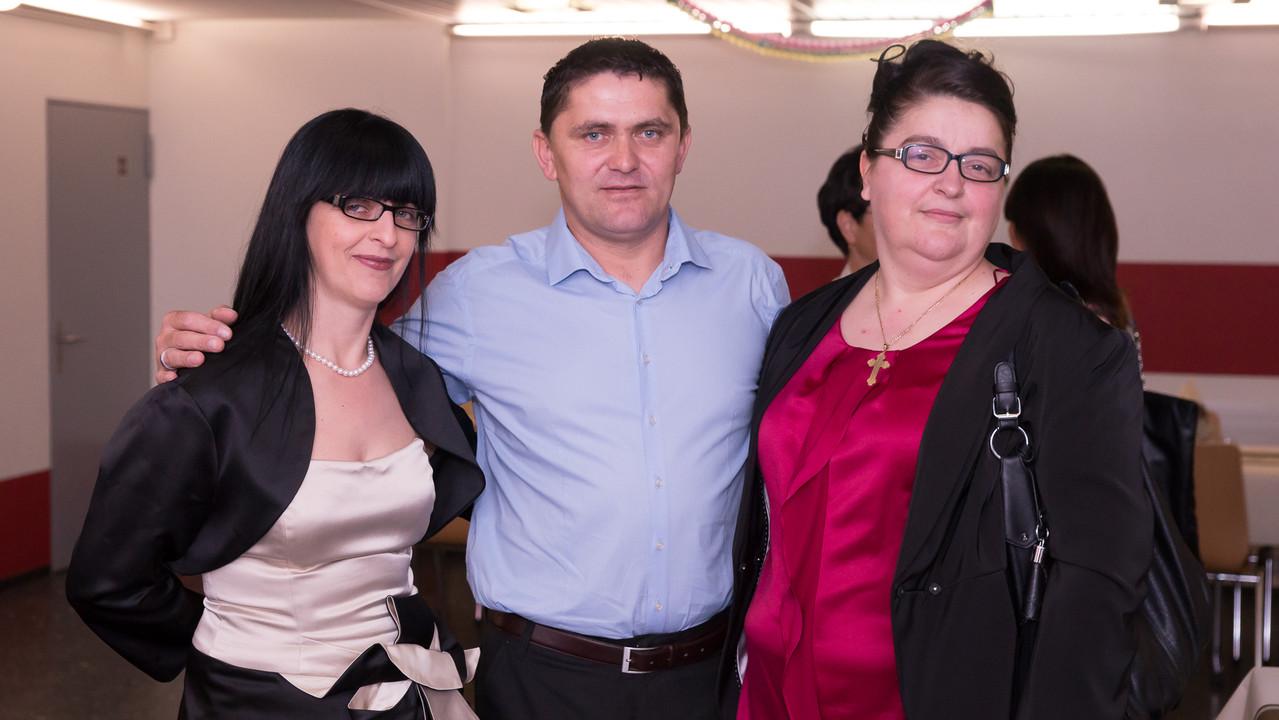 rođak Risto iz Gajeva sa Jokom i Gordanom
