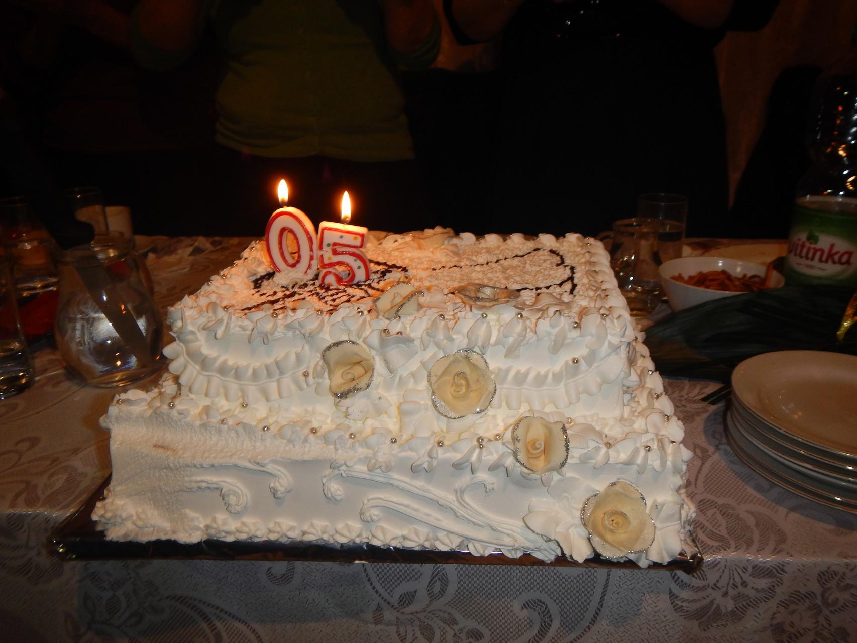 torta za 50. Rođendan