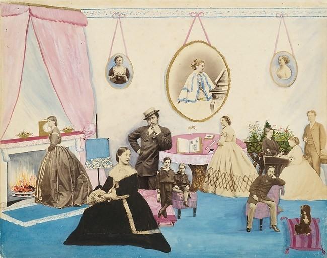 メアリー・ジョージ・フィルマー(1838〜1903年)。ビクトリア朝の宮廷女性の作品。