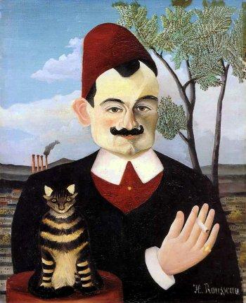 ピエール・ロティの肖像,1910年