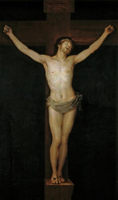 《キリストの磔刑》1780年