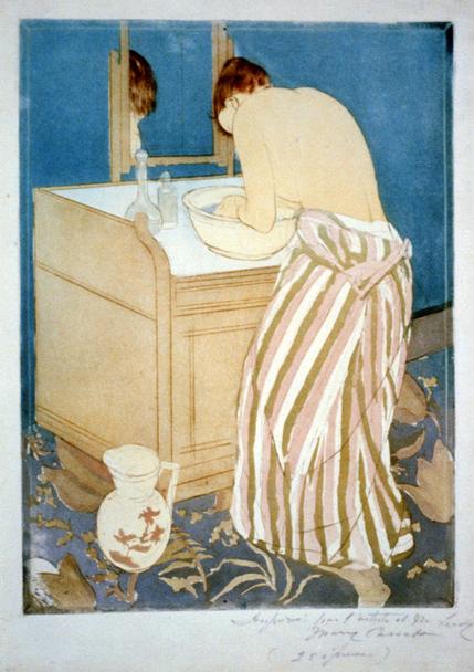《女浴》1891年