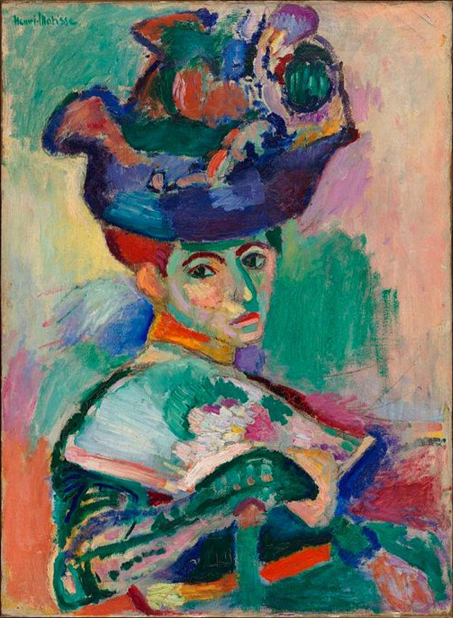 アンリ・マティス『帽子の女』(1905年)