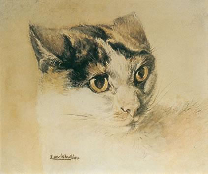ルイス・ウェインの初期作品。