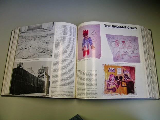 『Artforum』1981年12月号で「眩しい子ども」として紹介されたバスキア。