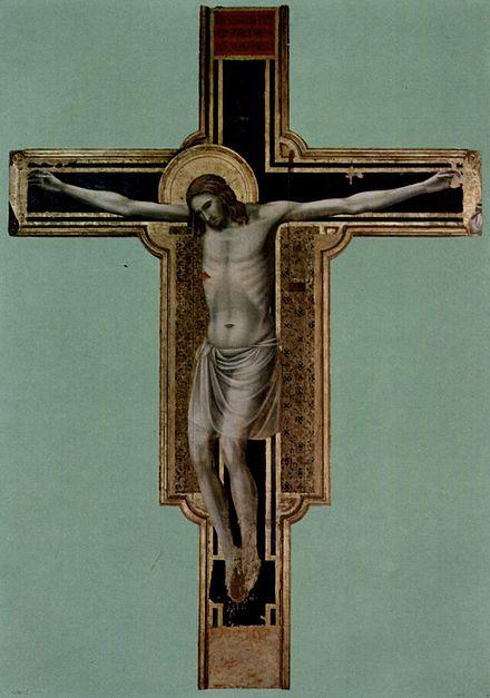 マラテスティアーノ教会の『キリスト十字架像』