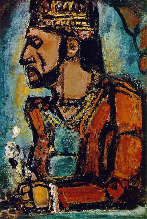 ジョルジュ・ルオー「旧王」(1936年)
