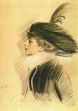 ベル・ダ・コスタ・グリーンの肖像。