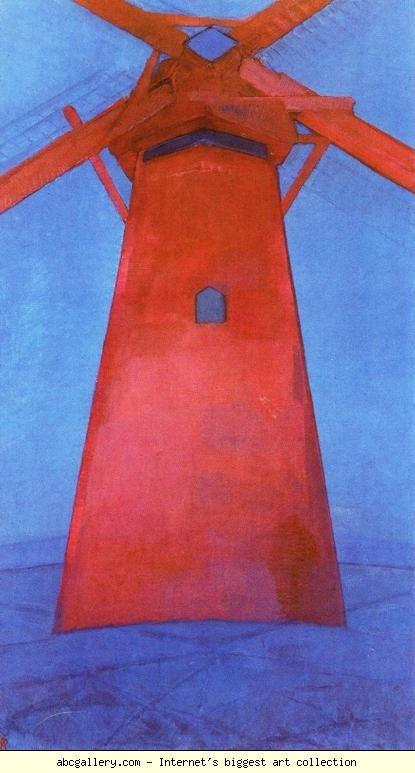 《赤い水車》(1911年)