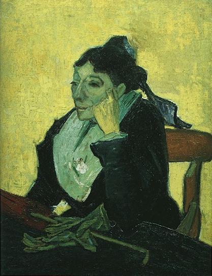 フィンセント・ファン・ゴッホ「アルルの女」(1888年)