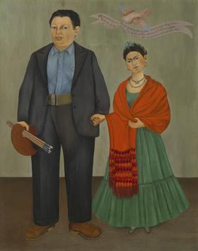 《フリーダとディエゴ・リベラ》(1931年)