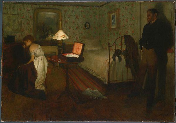 《室内》1868-1869年