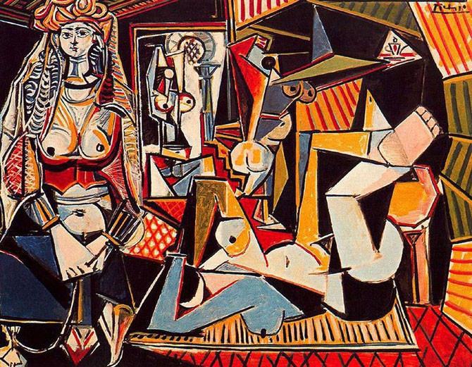「アルジェの女たち」(1954年から1963年)