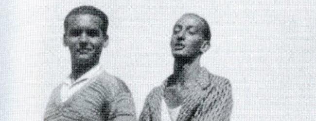 ロルカ(左)とダリ(右)