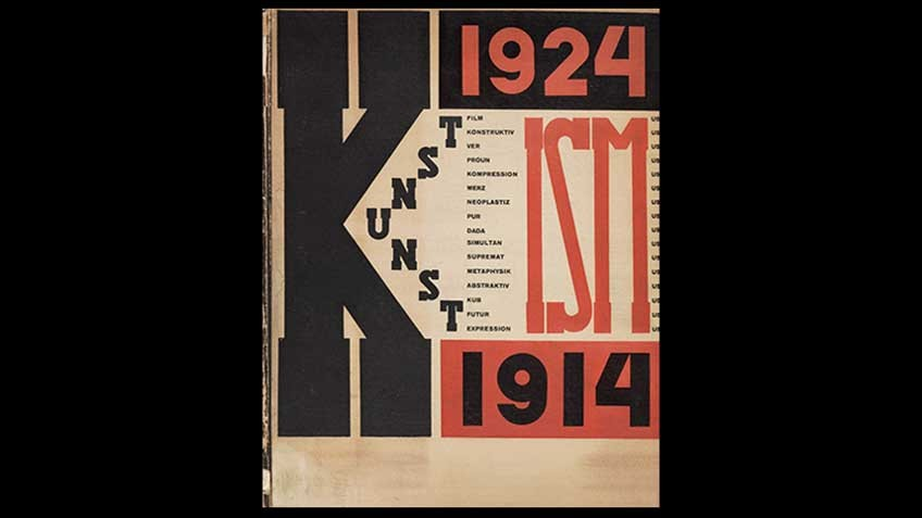 雑誌『Die Kunstismen』