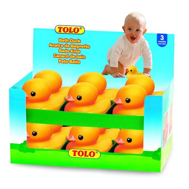 ※4:TOLO社から発売されている幼児用玩具「Bath Duck」