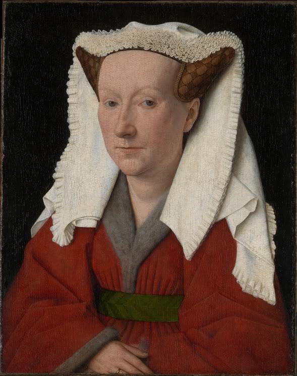 《マーガレット・ファン・エイクの肖像》,1439年