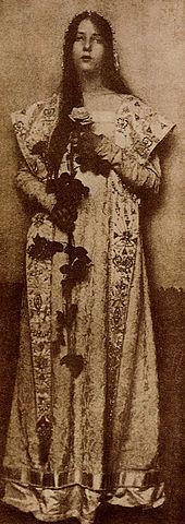 エバ・ワトソン・シュッツェ「ローズ」(1905年)