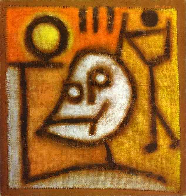 パウル・クレー「死と炎」(1940年)
