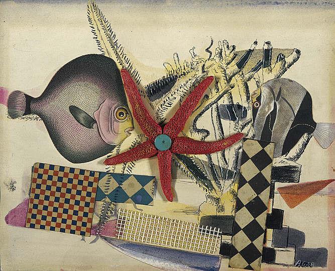アイリーン・エイガー《魚のサーカス》1939年