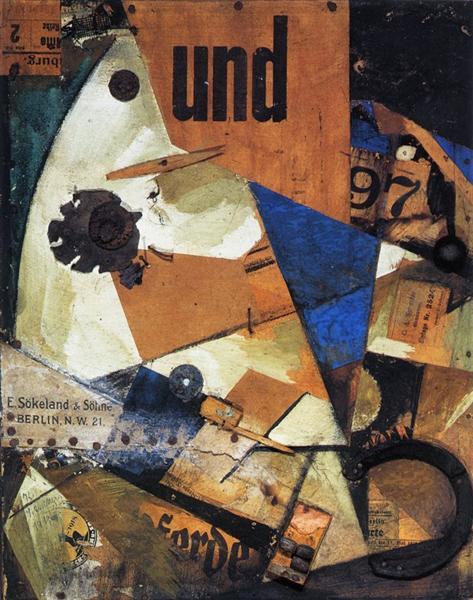 クルト・シュヴィッタース「Das Undbild」(1919年)