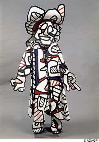 ジャン・デビュッフェ「Nini The Smirker (Minaude)」(1973年)