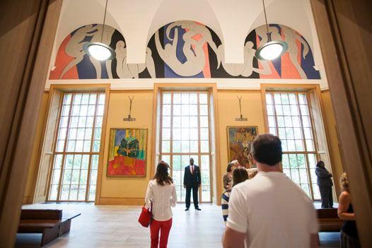 バーンズ財団の壁画『ダンス2』
