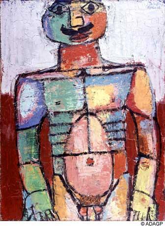 ジャン・デビュッフェ「Nu Bedecked」(1943年)
