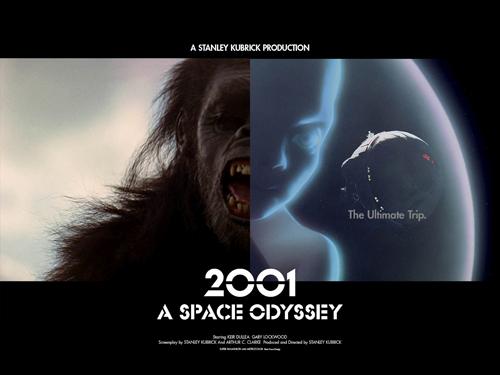 映画『2001年宇宙の旅』より。