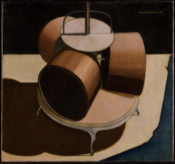 マルセル・デュシャン《チョコレート磨砕器 No.1》