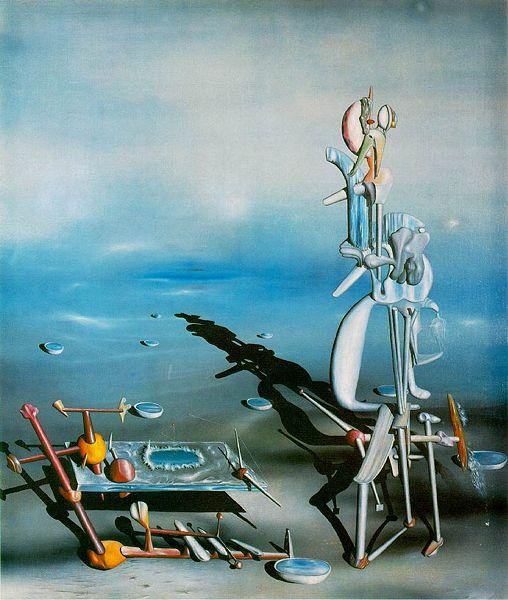 イヴ・タンギー「無限の分裂」(1942年)