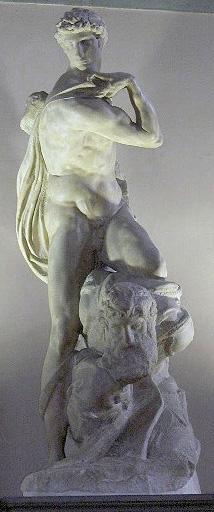《勝利の像》1534年