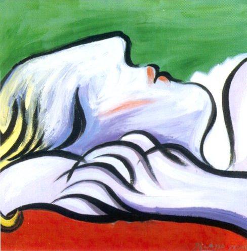パブロ・ピカソ「睡眠」(1932年)