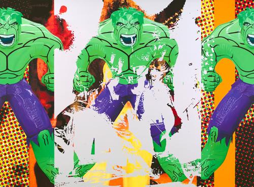 《Triple Hulk Elvis I》2007年 公式サイトより。