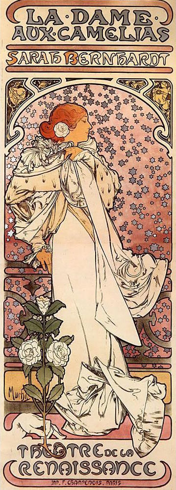 「椿姫」1896年