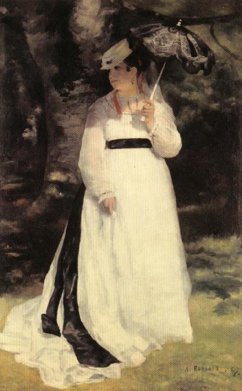 《日傘のリーズ》1867年