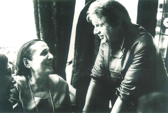 コロニー・ルーム創設者のミュリエル・ベルチャーとベーコン