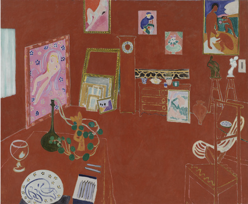 アンリ・マティス『赤いスタジオ』(1911年)