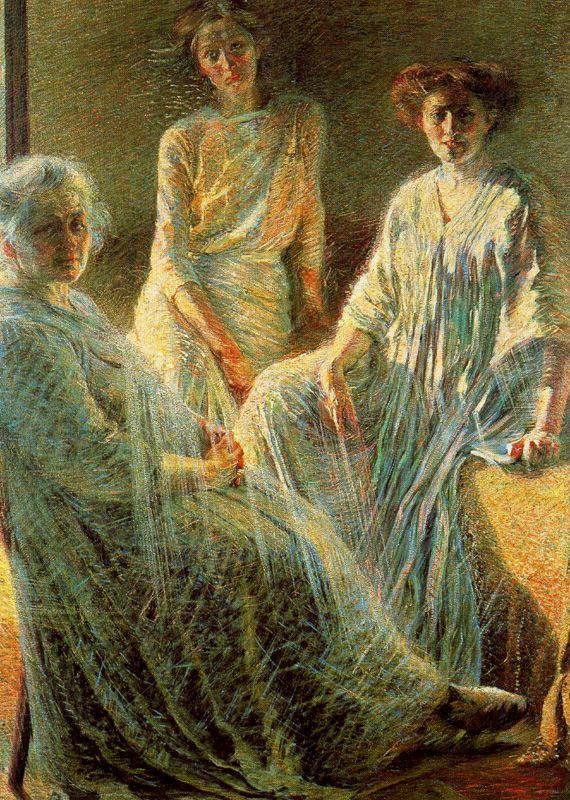 「3人の女性」(1910年)