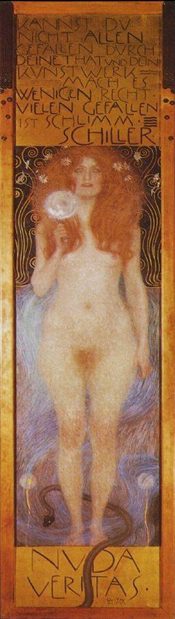 ※1:《裸のヴェリタス》1899年