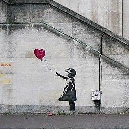 作品解説 バンクシーの作品を一覧 ねずみ 風船の少女などバンクシーの作品完全解説 Artpedia アートペディア 近現代美術の百科事典 データベース