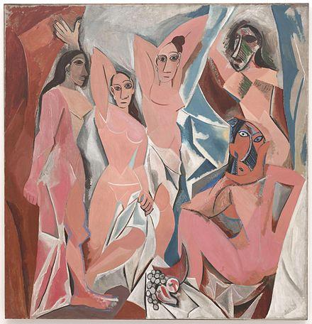 パブロ・ピカソ《アヴィニョンの娘たち》1907年